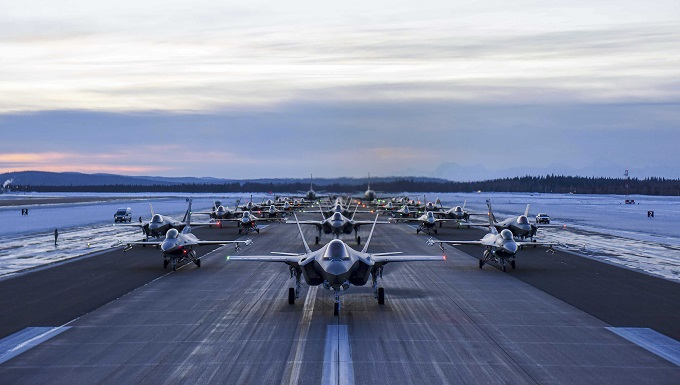 Eielson AFB team exercised rapid combat readiness, demonstrates arctic ability