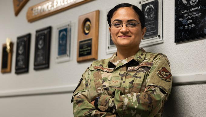 Against all odds: An Airman's journey from Egypt to the U.S. Air Force