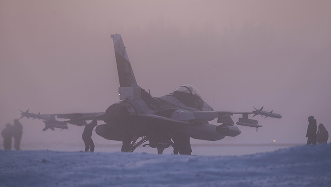 Aggressors fly south for mobile training