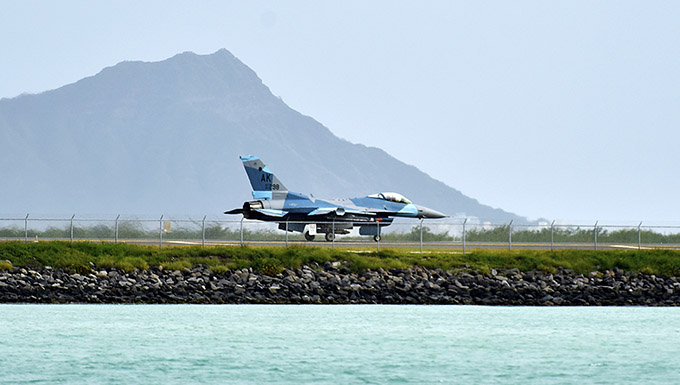 Aggressors say goodbye Hawaii, hello Guam