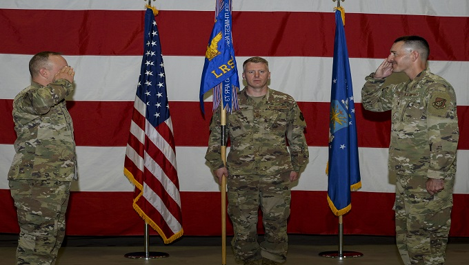 354th LRS welcomes new commander