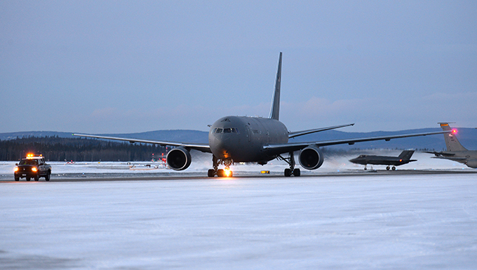 McConnell KC-46A conducts cold-weather training at Eielson